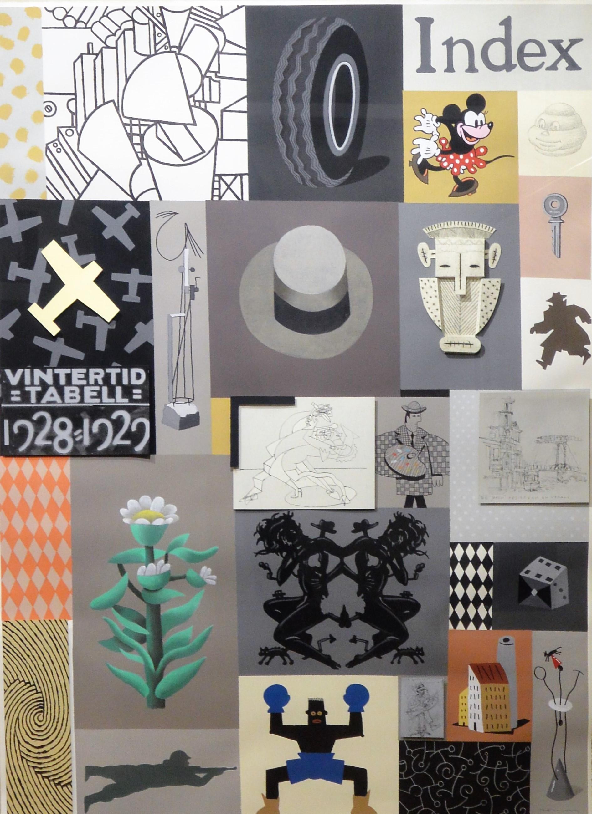 """Fernando Bellver – """"Index"""" conjunto dibujos originales técnica mixta ..."""