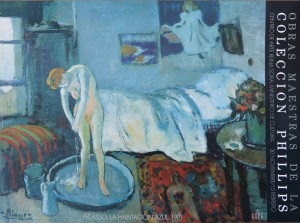 Picasso Pablo La habitación azul, Colección Phillips - Centro de Arte Reina Sofía 50x68 cms (8)
