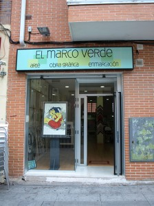 El marco verde Pozuelo, fachada.