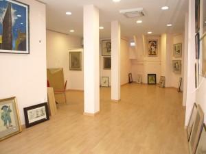 El marco verde Pozuelo, sala de exposiciones.