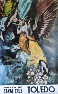Greco cartel editado por el Museo de Sta. Cruz Toledo. 100x62 cms (1)