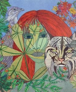 """Pilar Coomonte - """"Espíritu del bosque"""""""