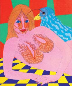 """Pilar Coomonte - """"Mujer y pájaro en una estancia"""""""