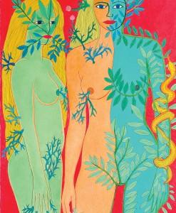 """Pilar Coomonte - """"Mujeres en el bosque"""""""