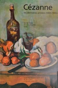 Cezanne Paul cartel original exposición les derniéres anées en el Petit Palais,, 60x41 cms. 26 (3)