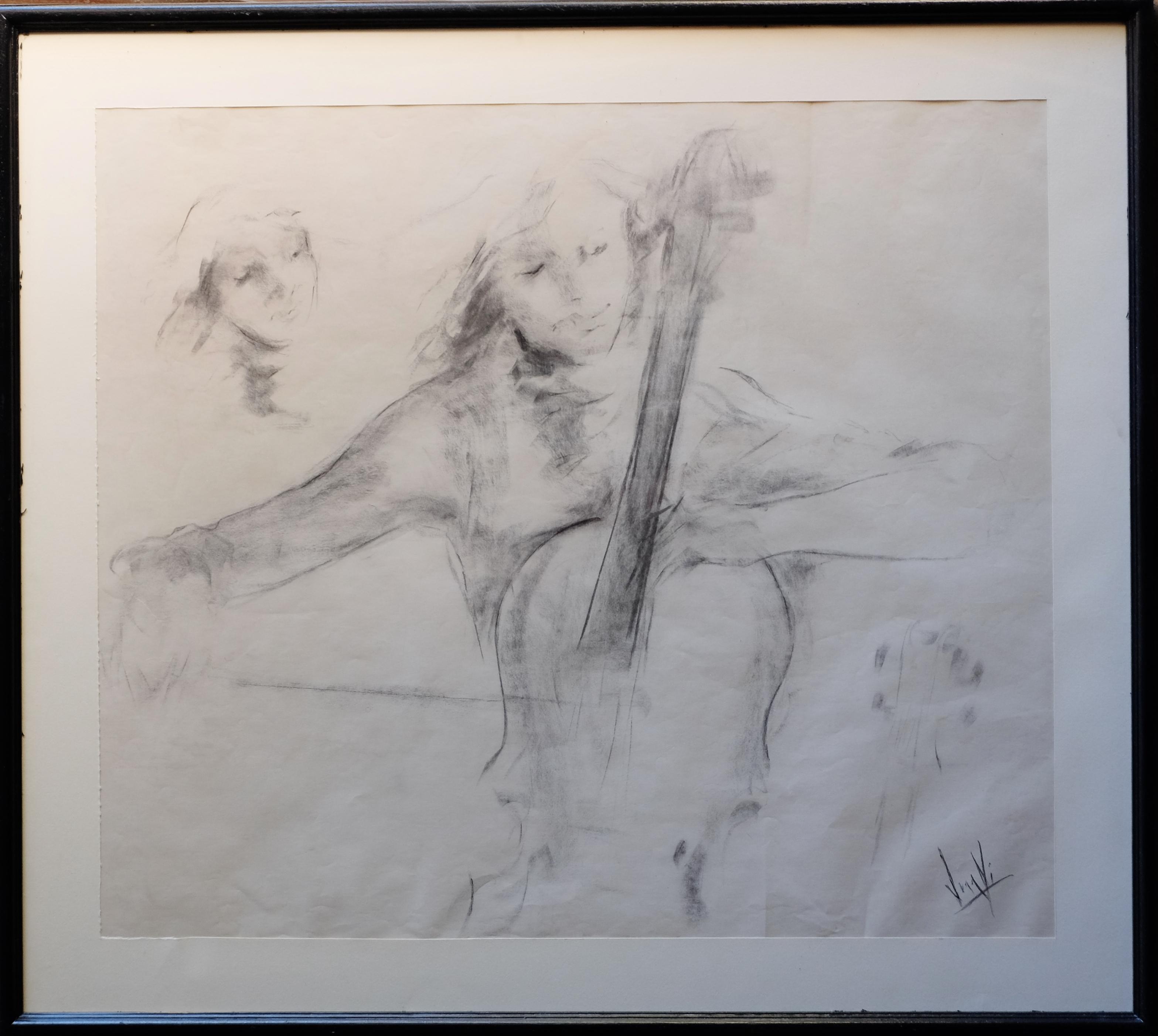 """Juanvi, Juan Vicente Barrio – """"Lección de música con cello"""" – El ..."""
