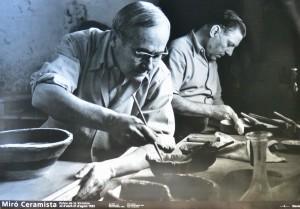 Mirón Joan, Miró ceramista, cartel original exposición en el Palau de la Virreina, 68x98 cms. 30 (1)