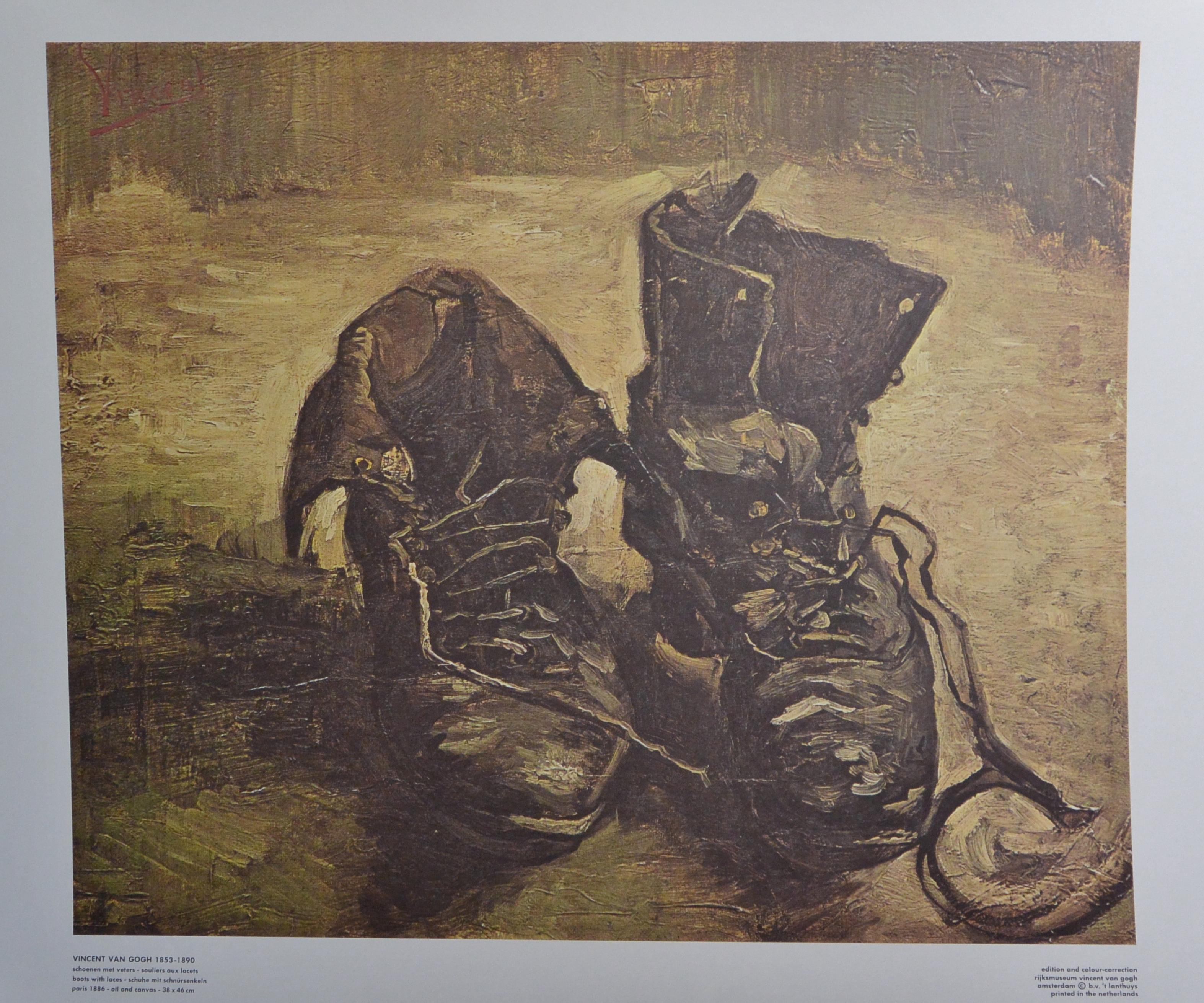 """El Van Con – Cordones"""" Marco Reproducción """"zapatos Gogh Vincent xp0Pqdwvv"""
