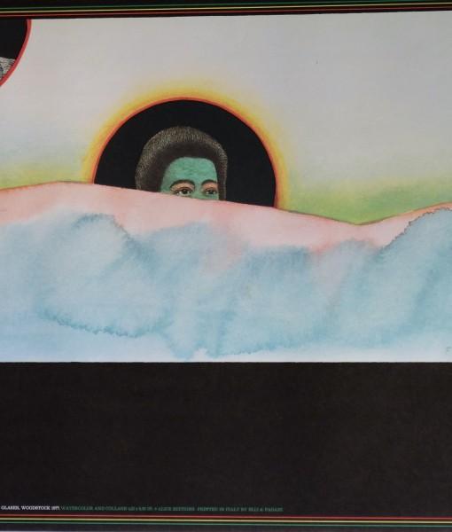 Folon Jean Michel & Glasser Milton, Woodstock 1977, 61×92 cms.  (1)