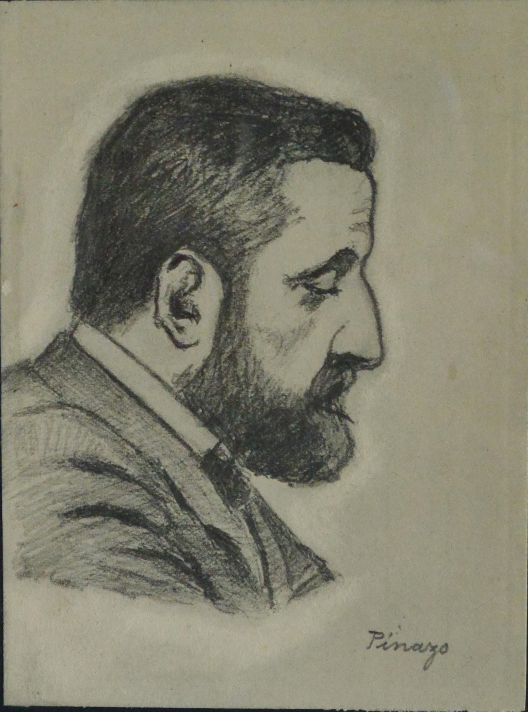 """José Pinazo Martinez – """"Personaje del Ateneo de Valencia X"""" dibujo ..."""