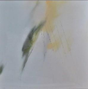 Zobel Fernando, Composición abstracta, serigrafía, edición 200 ejemplares, numerado y firmado a lápiz, papel 79x79 y marco 109x109 cms. 1400 (4) - copia