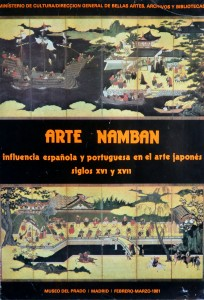 Arte Namban, cartel original exposición 98x68 cms. 22-12 (2)