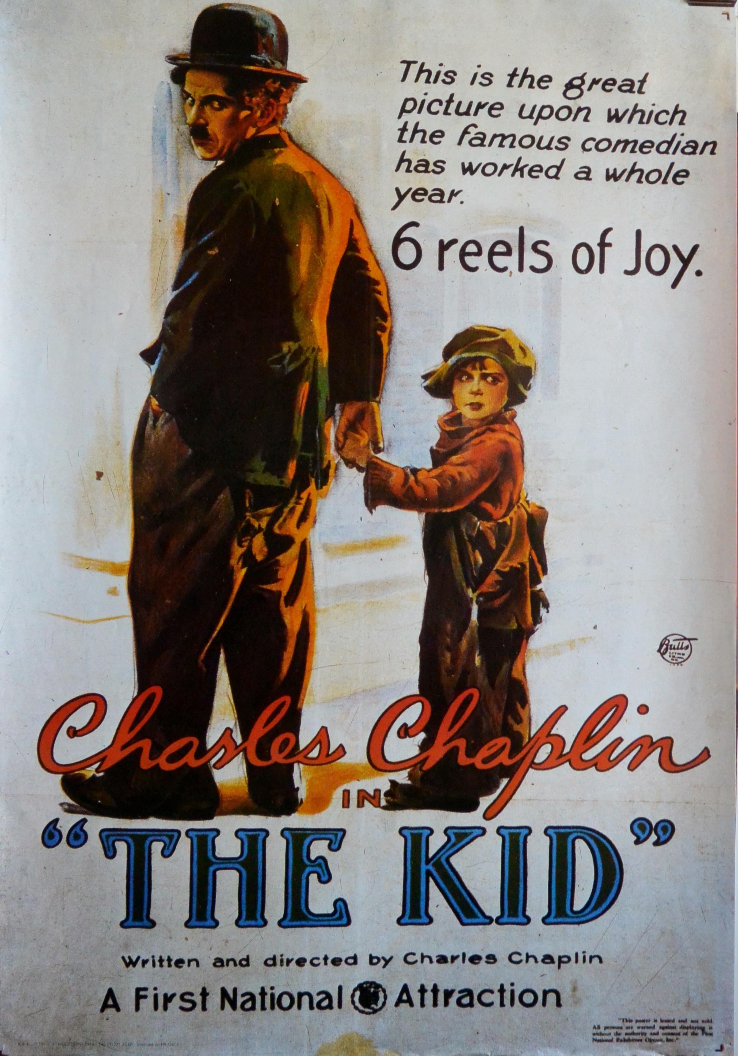 """Cartel de cine – """"The Kid"""" Charlie Chaplin – El Marco ..."""