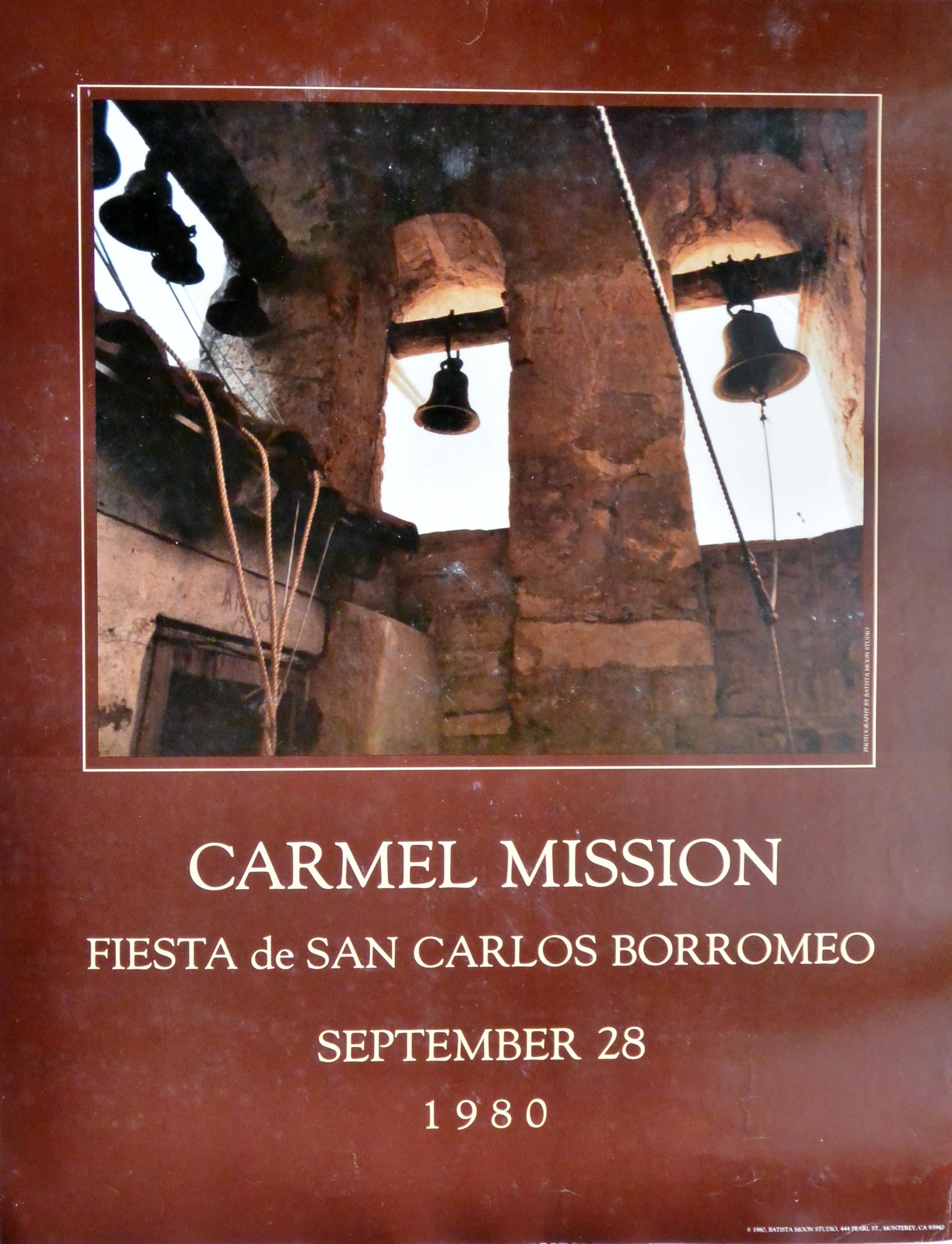Carmel mission fiesta de san carlos borromeo cartel el marco verde obra gr fica posters - Almacenes san carlos ...