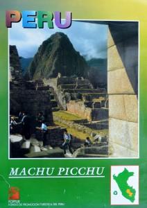 Perú, Machu Picchu, cartel promoción turística, señales uso 12-6 (2)
