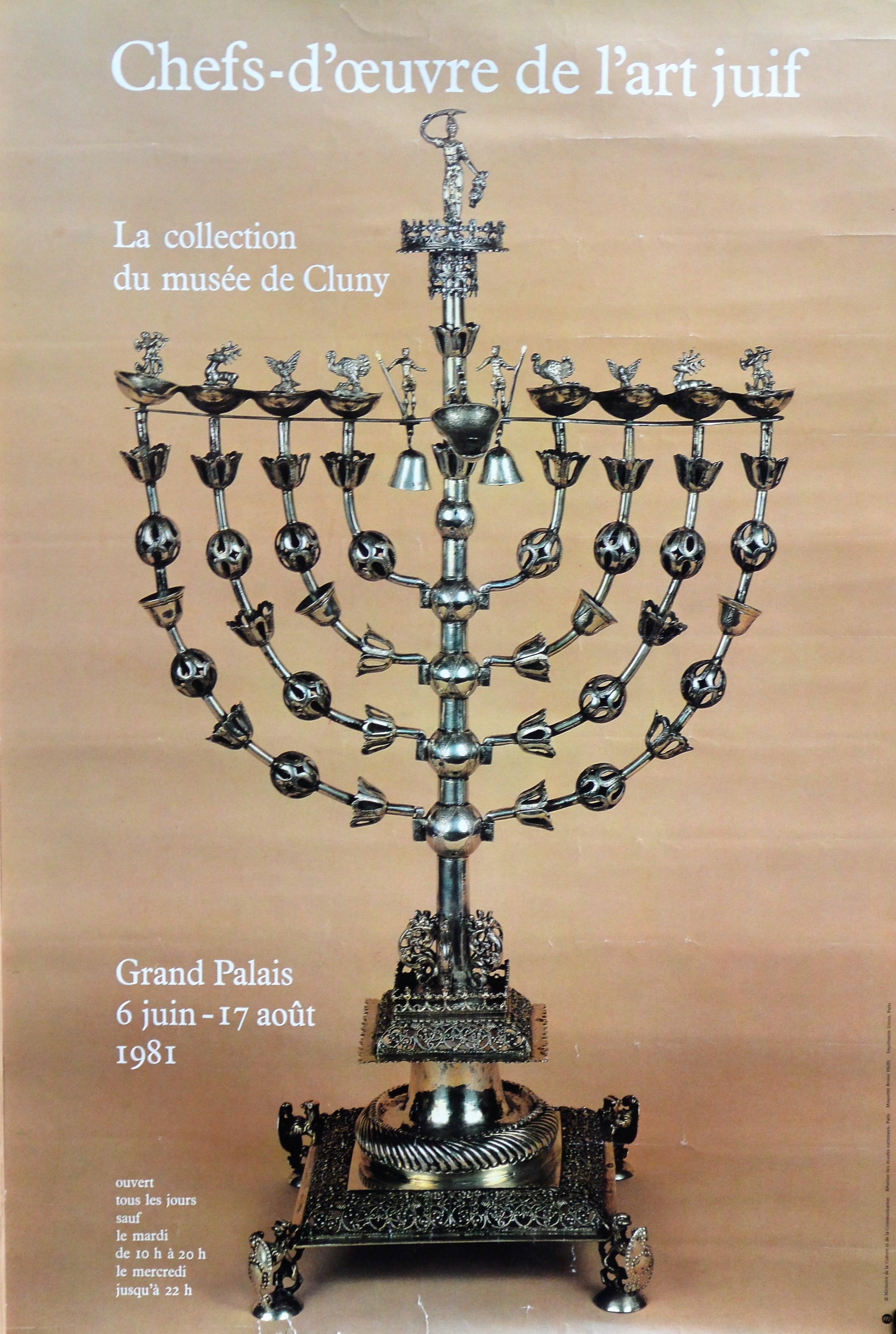Chefs d oeuvre de l art juif la collection du mus e de cluny cartel original exposici n - Chef d oeuvre ...