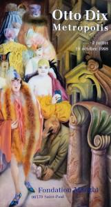 Dix Otto, La Grande Ville, cartel original exposición Metrópolis en la Fondation Maeght en 1998, 79x43 cms.   (3)