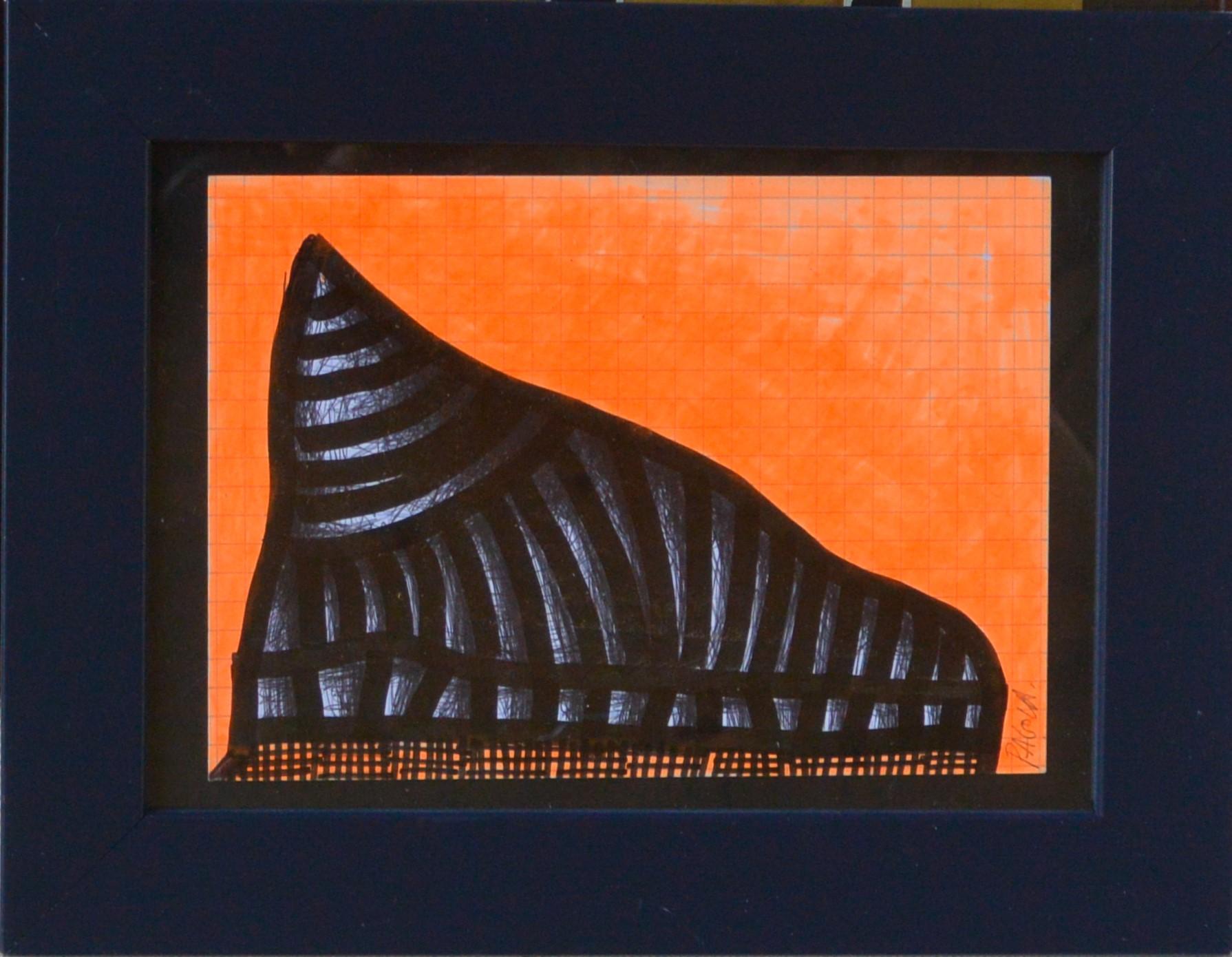 """Javier Pagola – """"Monumento sin nombre"""" dibujo técnica mixta ..."""