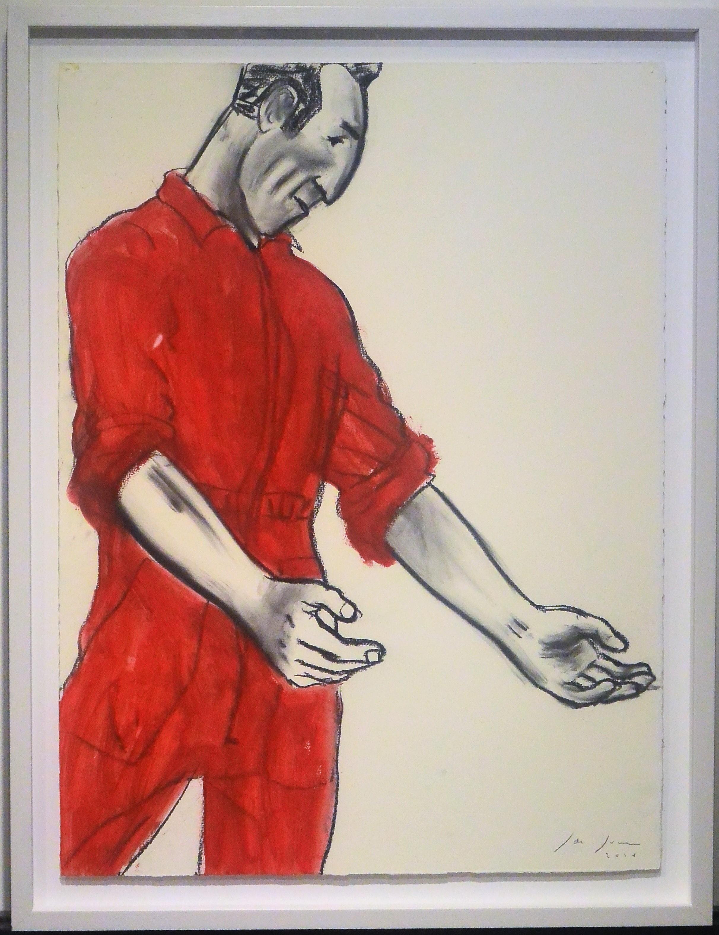 """Javier de Juan – """"Cita de frente"""" pintura oleo en barra, tinta y ..."""