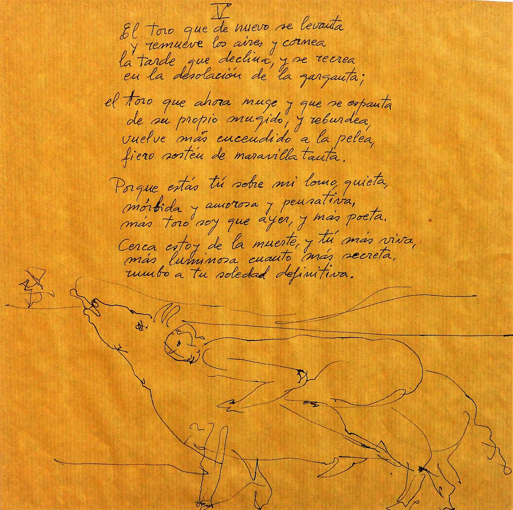 """Andrés Barajas – """"Tauromaquia Mujer y Toro V, El toro que de nuevo ..."""