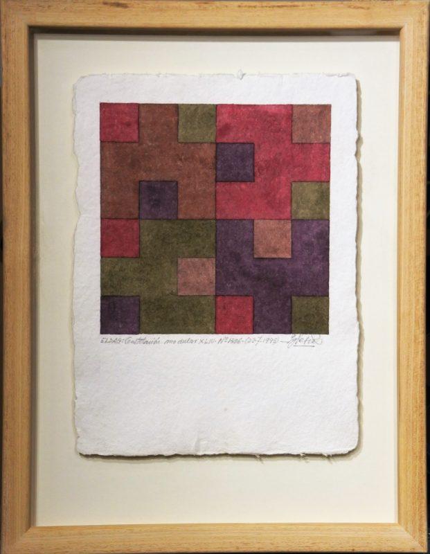 """Jose María Iglesias – """"ELDAG, Constelación modular XLIII"""" pintura ..."""