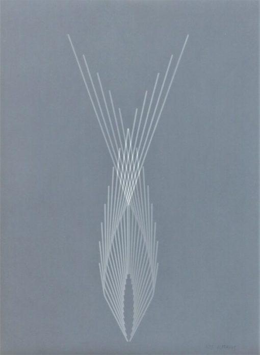 Alfaro Andreu, Geometria, litografia, edición 25 ejemplares, numerado y firmado a lápiz, 76×56 cms. (2)
